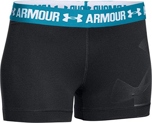 安德玛Under Armour女式Heatgear Armoury图案短裤