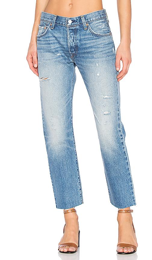 李维斯LEVI'S 501直筒牛仔裤(女款)