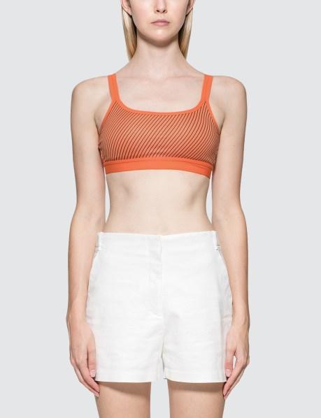 卡尔文克莱恩Calvin Klein Performance系带装饰文胸(女款)