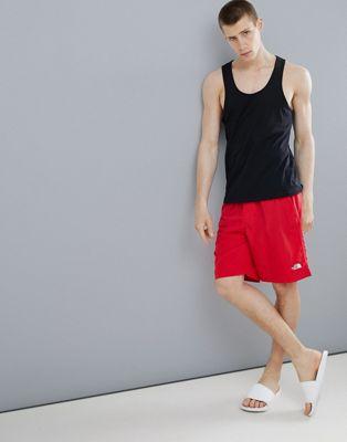 北面North Face Class V Water泳裤 Red (男款)