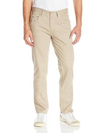 卡尔文克莱恩Calvin - Klein -牛仔男式五口袋粗纺斜纹裤子
