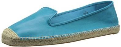 玖熙Nine West女式Beachinit皮质芭蕾平底鞋