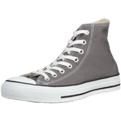 匡威CONVERSE帆布HI全明星男式灰色帆布鞋