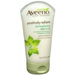 艾维诺Aveeno纯天然亮肤去角质磨砂膏抗氧化洁面啫喱洗面奶140g