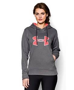 安德玛Under Armour女式UA Big Logo贴花连帽衫