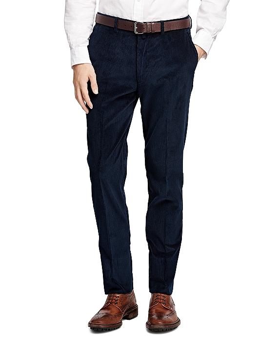 布克兄弟Brooks Brothers灯芯绒正装裤子