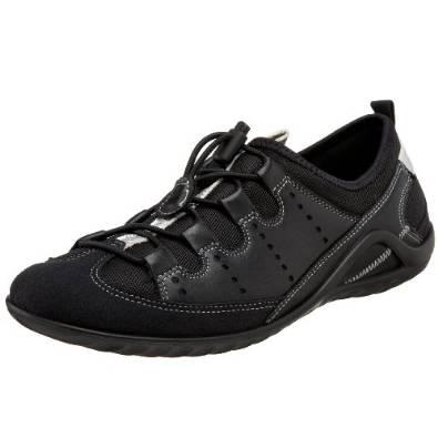 爱步ECCO爱步活力2代女士休闲鞋黑色款