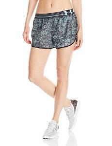 安德玛Under Armour女式印花Perfect Pace短裤